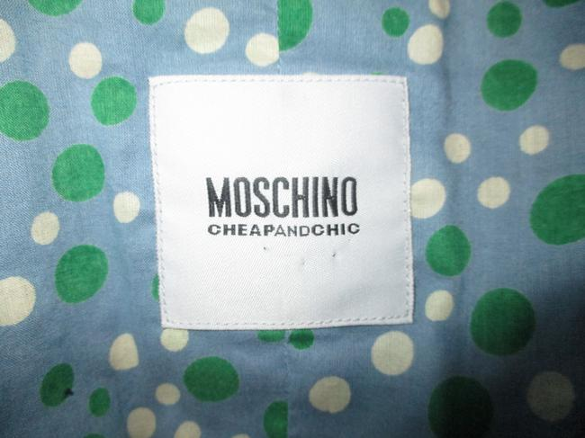 Moschino Silk Flower Jacket 005 navy multi Blazer Image 4