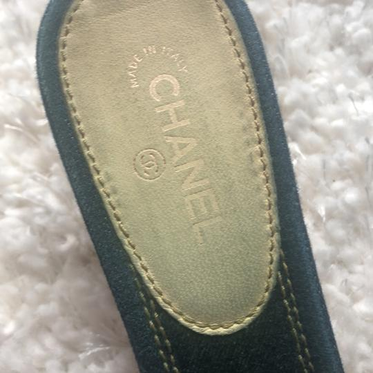 Chanel navy Mules Image 3