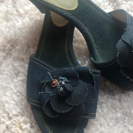 Chanel navy Mules Image 5