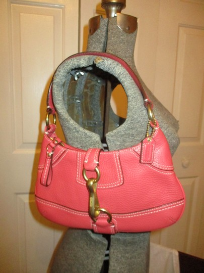 Coach Leather Small Shoulderbag 001 Baguette Image 1