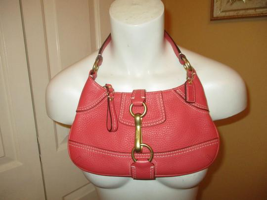 Coach Leather Small Shoulderbag 001 Baguette Image 10