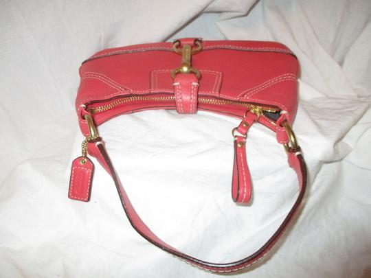 Coach Leather Small Shoulderbag 001 Baguette Image 11