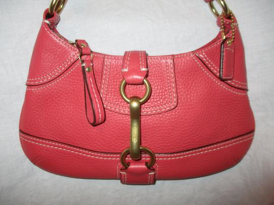 Coach Leather Small Shoulderbag 001 Baguette Image 2