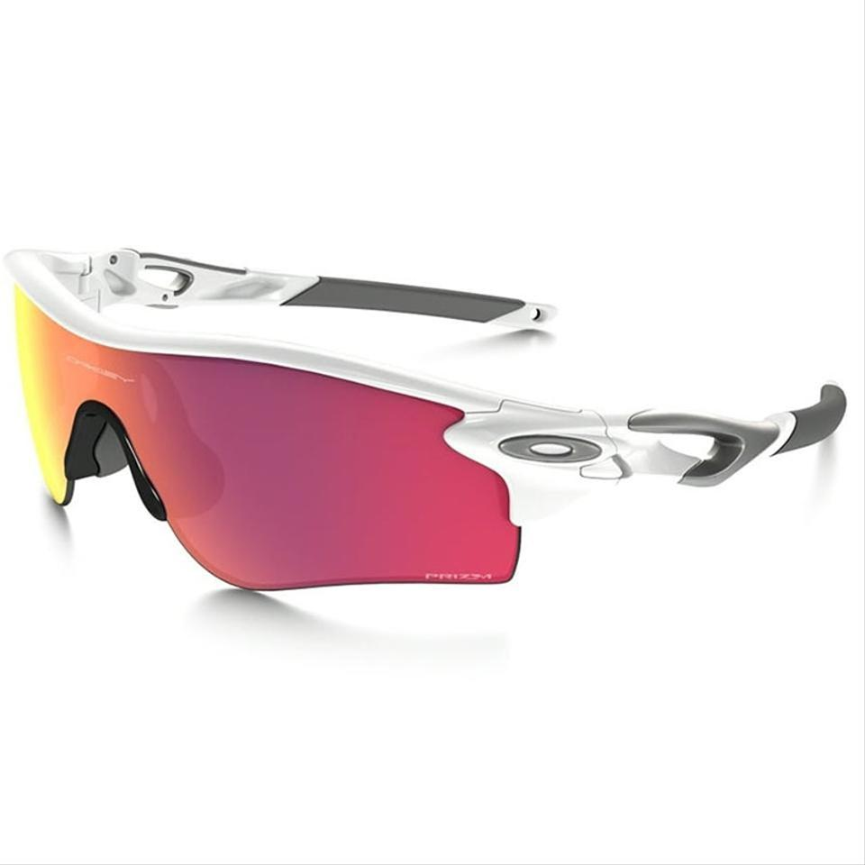 407088fc21b Oakley Polished White Sports Style Unisex Oo9181-33 Prizm Baseball Infield Lens  Sunglasses
