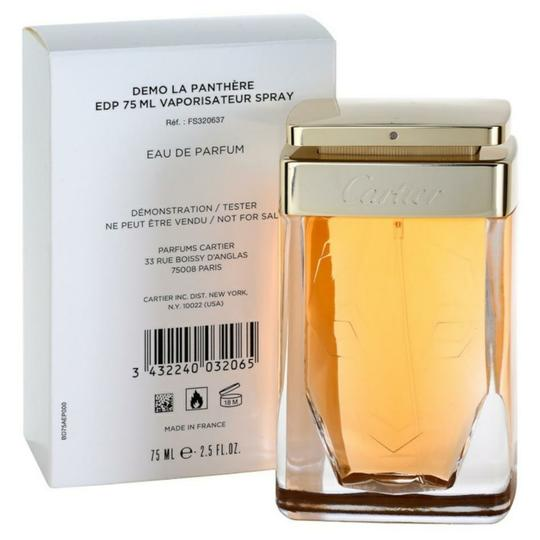 Cartier LA PANTHERE BY CARTIER-EDP-2.5 OZ-75 ML-TESTER-FRANCE Image 4