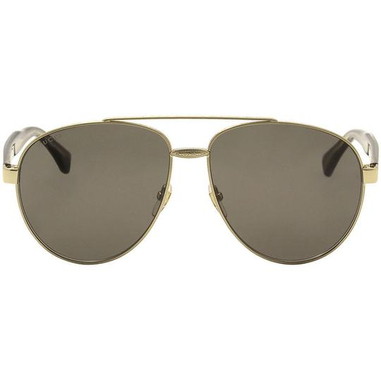 Gucci g0054s 001 Women Pilot Sunglasses