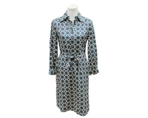 Casi Dvf Vintage Shirtdress Paisley Dress