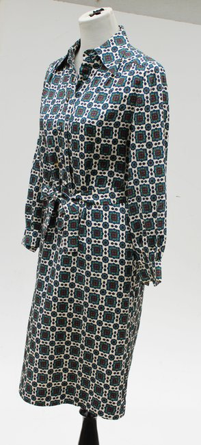 Casi Dvf Vintage Shirtdress Paisley Dress Image 2