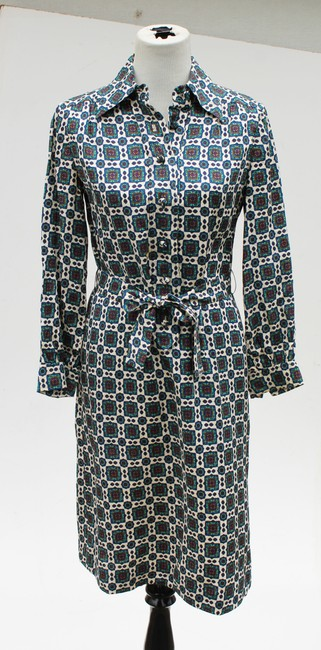 Casi Dvf Vintage Shirtdress Paisley Dress Image 4
