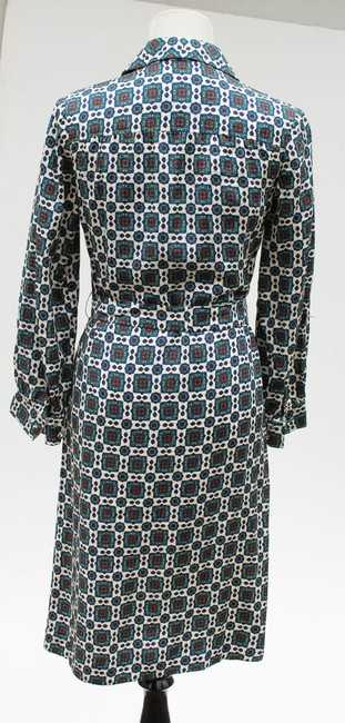 Casi Dvf Vintage Shirtdress Paisley Dress Image 5