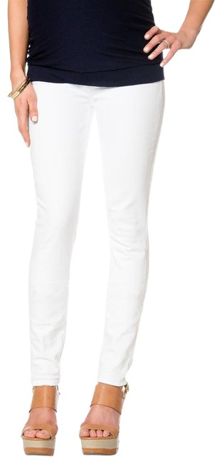 Item - White Secret Fit Belly Leg Maternity Denim Size 29 (6, M)