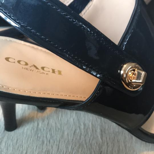 Coach Midnight Navy Pumps Image 10