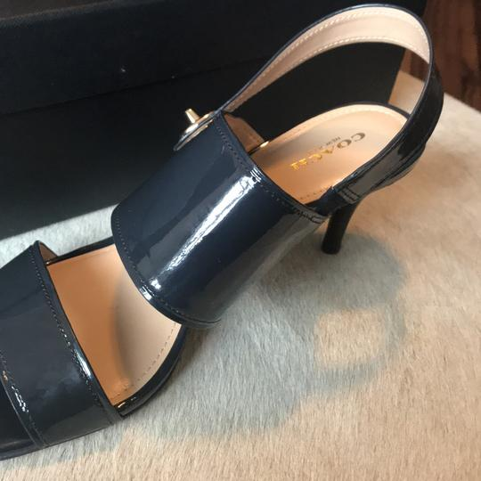 Coach Midnight Navy Pumps Image 6