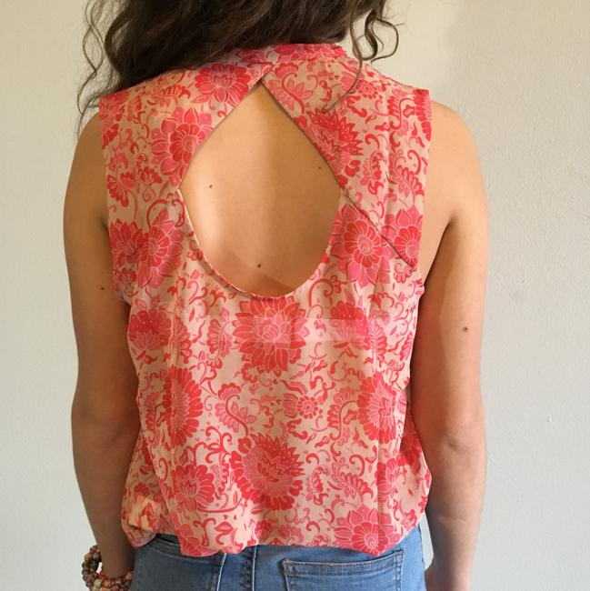 CAbi Top pink, nude, red Image 2