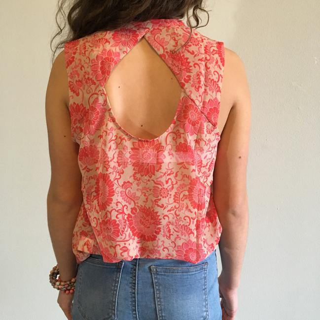 CAbi Top pink, nude, red Image 3