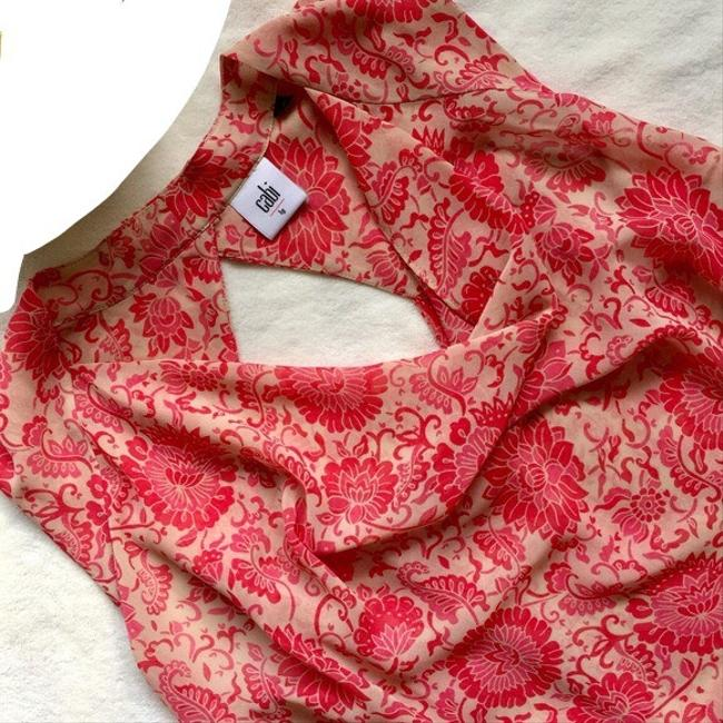 CAbi Top pink, nude, red Image 5