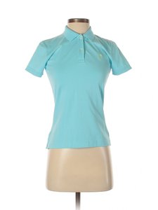 Lilly Pulitzer Polo Cotton T Shirt Blue