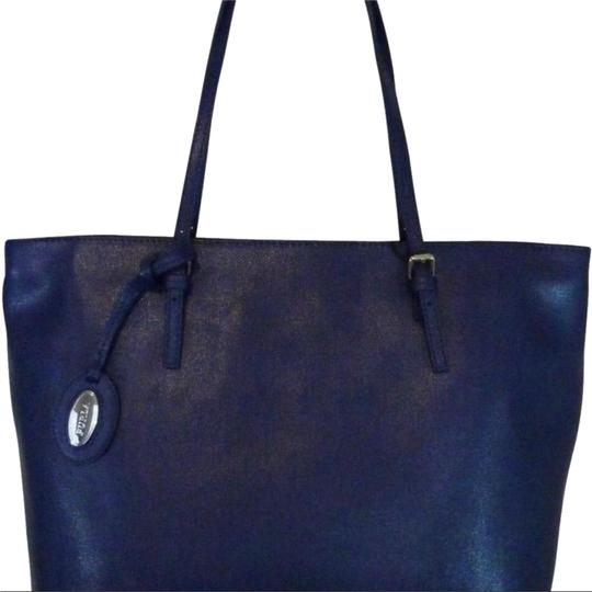 Furla Tote in ink blue Image 0