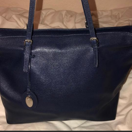 Furla Tote in ink blue Image 2