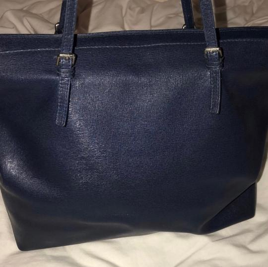 Furla Tote in ink blue Image 4