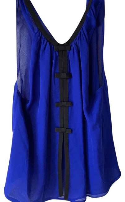 Item - Blue and Black Na Tank Top/Cami Size 4 (S)