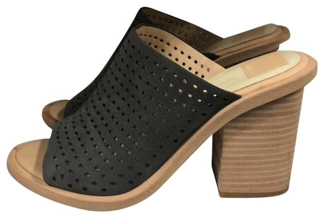 Item - Gray and Tan Chunky Sandals Size US 8 Regular (M, B)