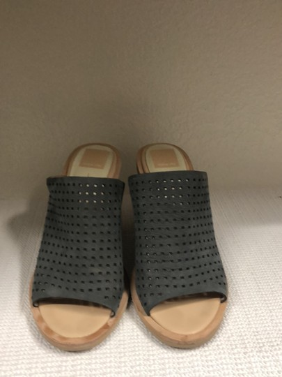 Dolce Vita Gray and Tan Sandals Image 1