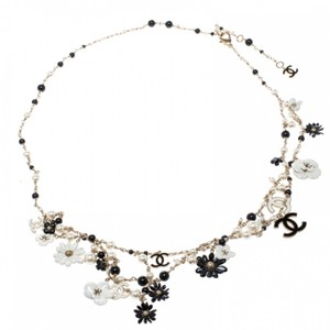 Chanel Necklace/belt Enamel Pearl and Bead