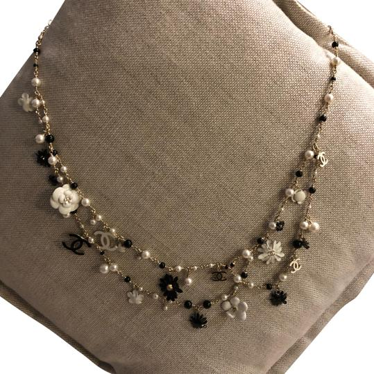 Chanel Necklace/belt Enamel Pearl and Bead Image 1