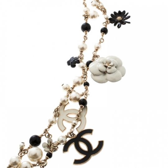 Chanel Necklace/belt Enamel Pearl and Bead Image 10