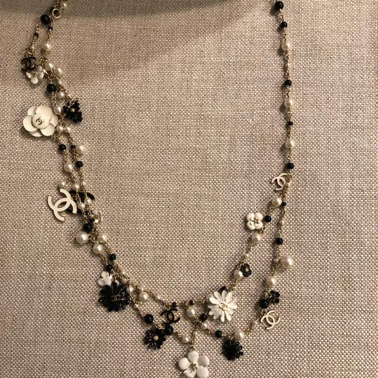 Chanel Necklace/belt Enamel Pearl and Bead Image 2