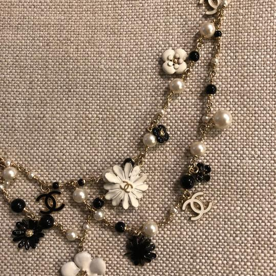 Chanel Necklace/belt Enamel Pearl and Bead Image 5