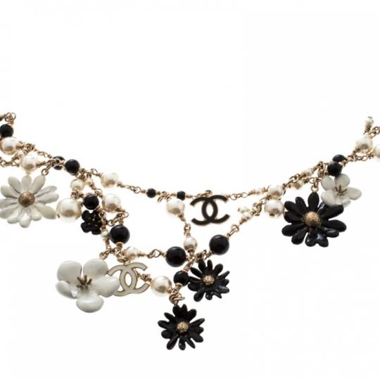 Chanel Necklace/belt Enamel Pearl and Bead Image 8