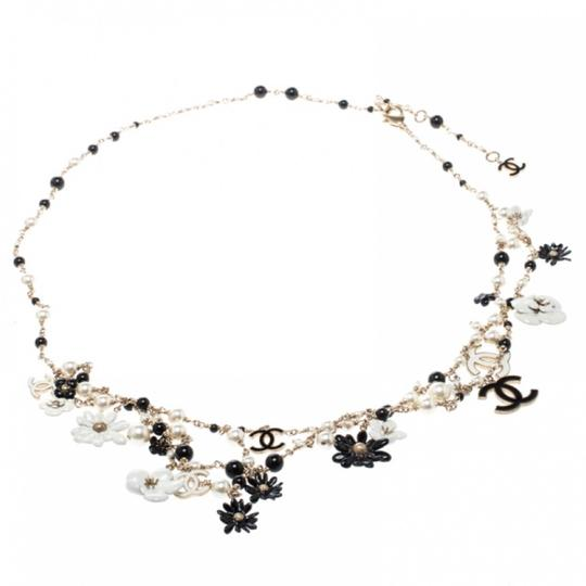 Chanel Necklace/belt Enamel Pearl and Bead Image 9