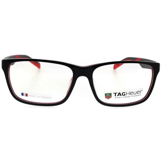 TAG Heuer B-Urban-0552-002-59 Rectangle Unisex Black Frame Clear Lens Eyeglasses Image 2