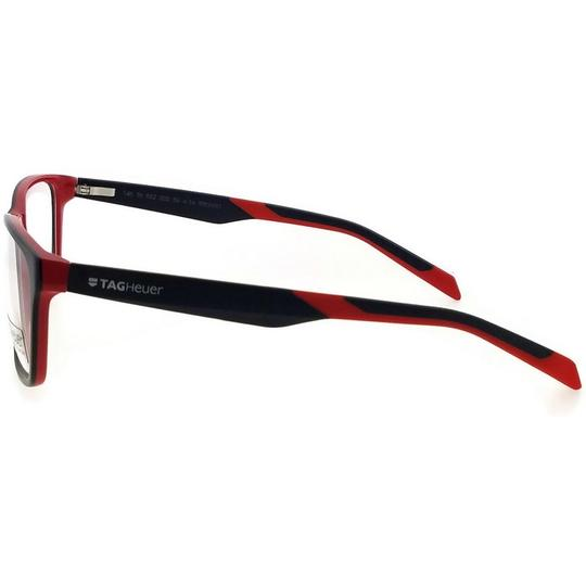 TAG Heuer B-Urban-0552-002-59 Rectangle Unisex Black Frame Clear Lens Eyeglasses Image 3
