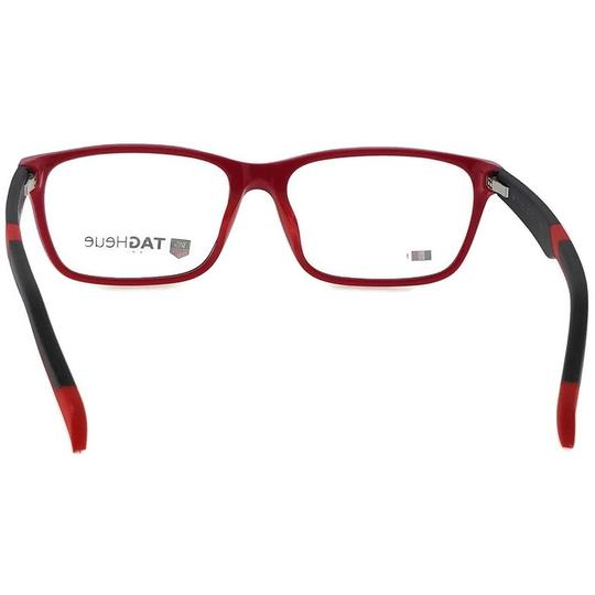 TAG Heuer B-Urban-0552-002-59 Rectangle Unisex Black Frame Clear Lens Eyeglasses Image 4
