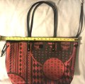 MCM 2016 Reversible Shopper Tote in Red Image 1