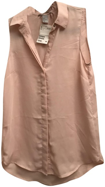 Preload https://img-static.tradesy.com/item/24589739/h-and-m-light-pink-bouse-button-down-top-size-2-xs-0-1-650-650.jpg
