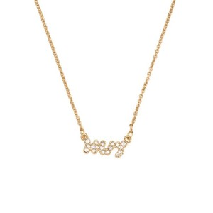 Kate Spade Gold Mrs. Necklace
