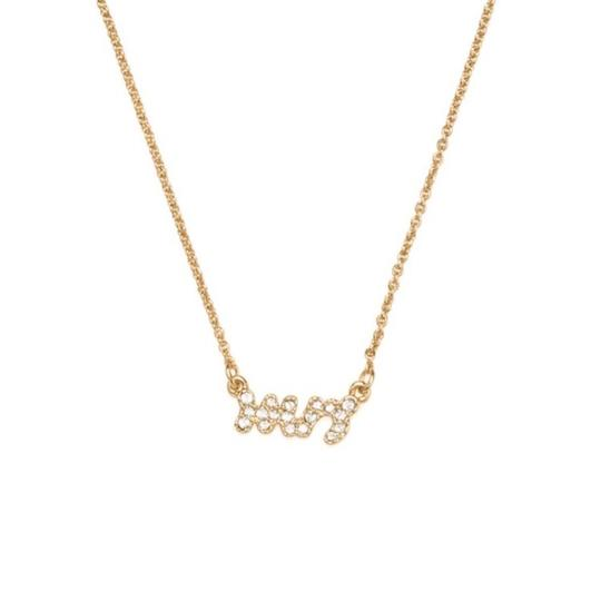 Kate Spade Gold Mrs. Necklace Image 0
