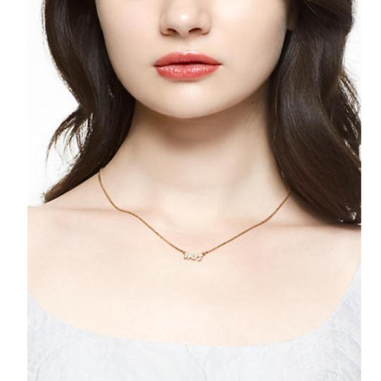 Kate Spade Gold Mrs. Necklace Image 1
