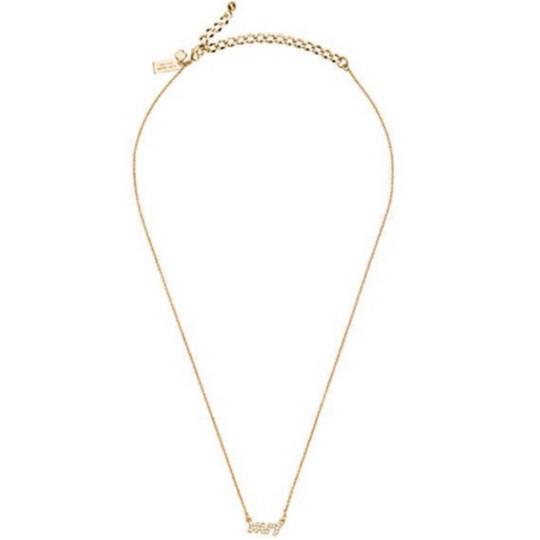 Kate Spade Gold Mrs. Necklace Image 2