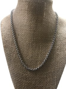 David Yurman David Yurman wheat chain necklace 18 inches 4 mm