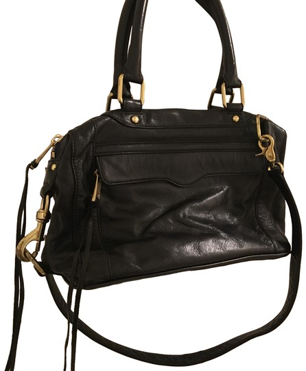 Preload https://img-static.tradesy.com/item/24589946/rebecca-minkoff-rare-morning-after-mab-with-dust-black-leather-brass-satchel-0-1-540-540.jpg