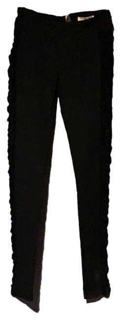 Item - Black Ruched Leggings Size 6 (S, 28)