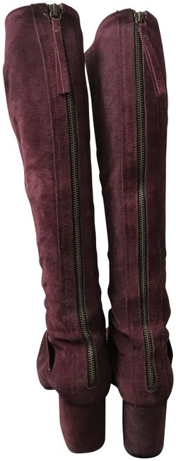 Free People Purple/Burgundy Boots/Booties Size US 8 Regular (M, B) Free People Purple/Burgundy Boots/Booties Size US 8 Regular (M, B) Image 1