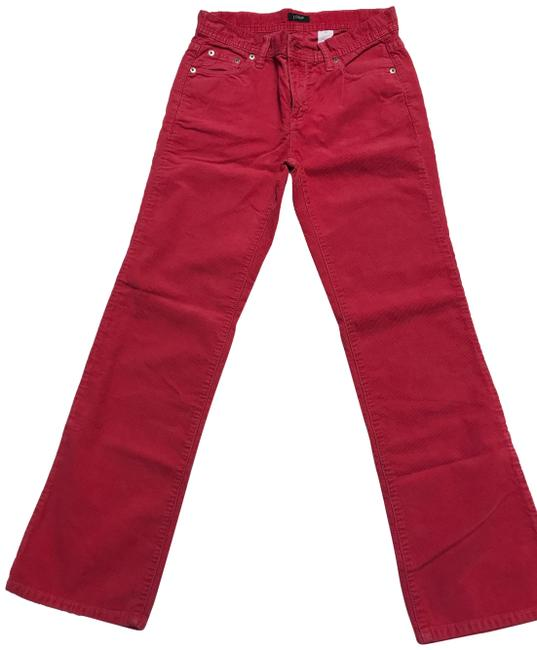Preload https://img-static.tradesy.com/item/24590044/jcrew-green-whiat-pink-and-blue-light-wash-high-rise-toothpick-corduroy-all-4-colors-boot-cut-jeans-0-1-650-650.jpg