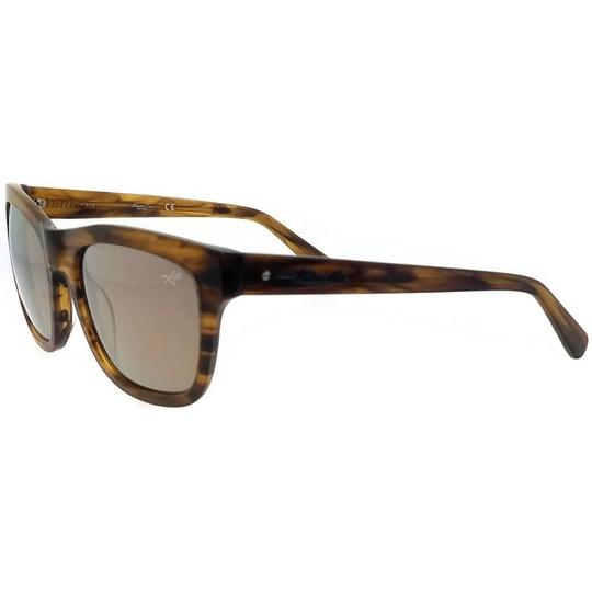 Kenneth Cole KC7201-62C-52 Square Women's Brown Frame Brown Lens Sunglasses NWT Image 1