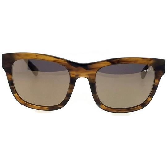 Kenneth Cole KC7201-62C-52 Square Women's Brown Frame Brown Lens Sunglasses NWT Image 2